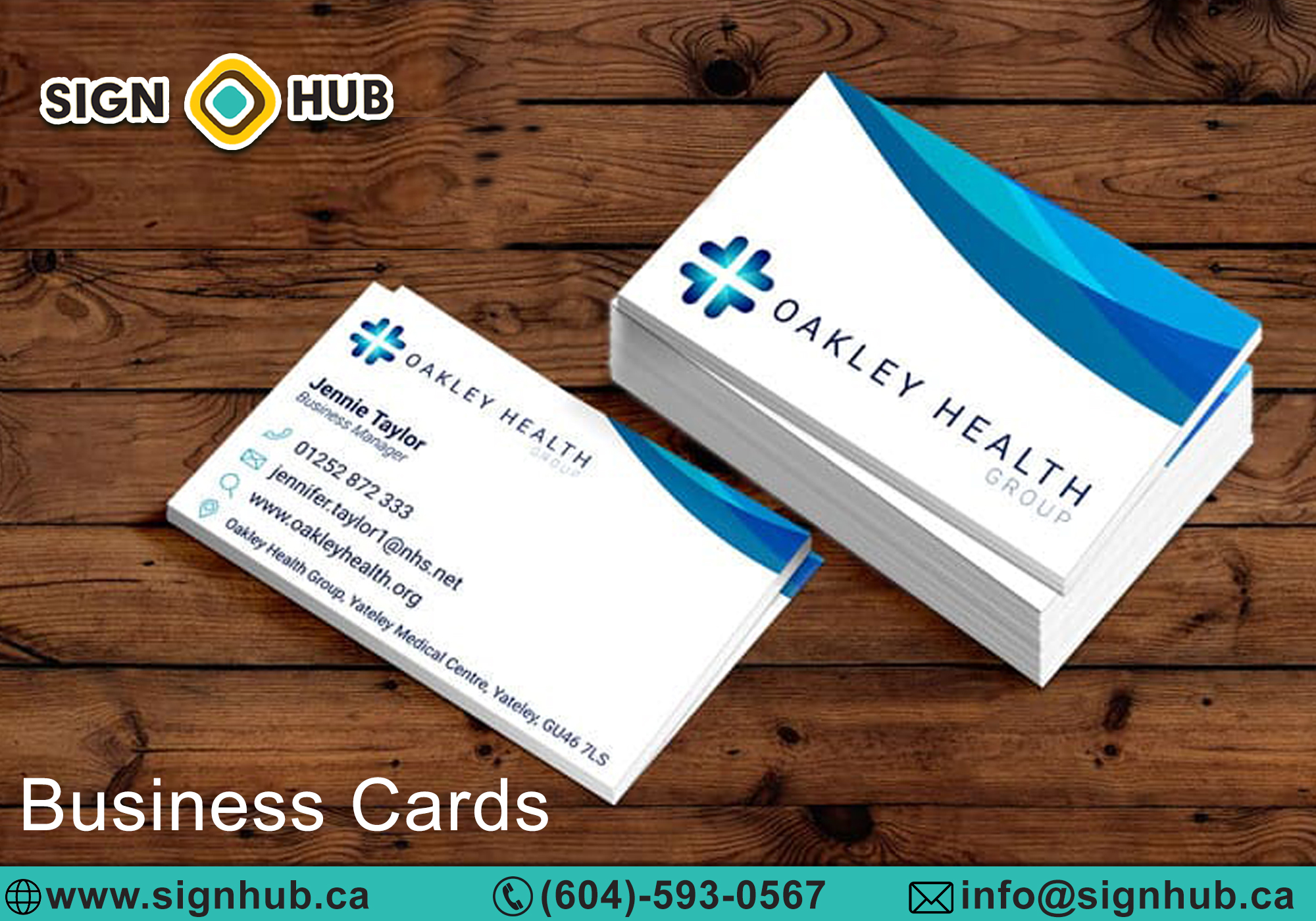 Business cards Surrey BC